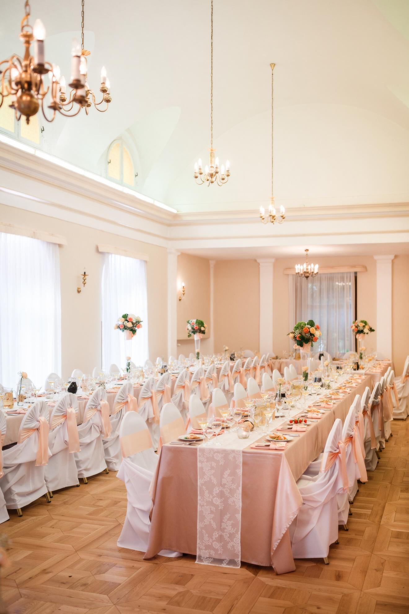 Zámok Topoľčianky hotel svadby oslavy