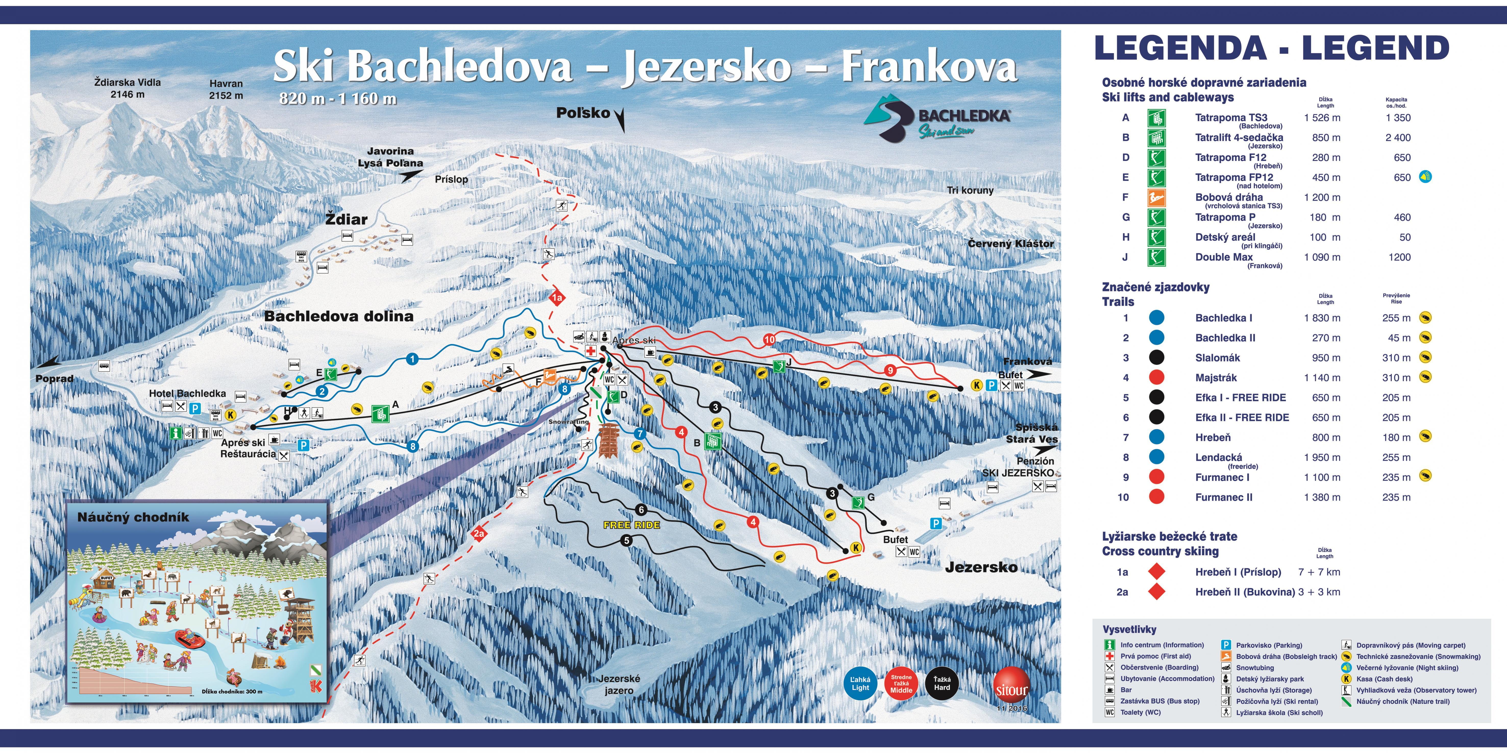 ly�iarska mapa bachledka