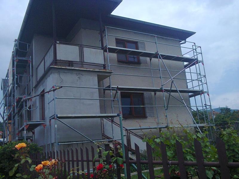 lesenie nitra - požičovňa - lešenie na rodinny dom