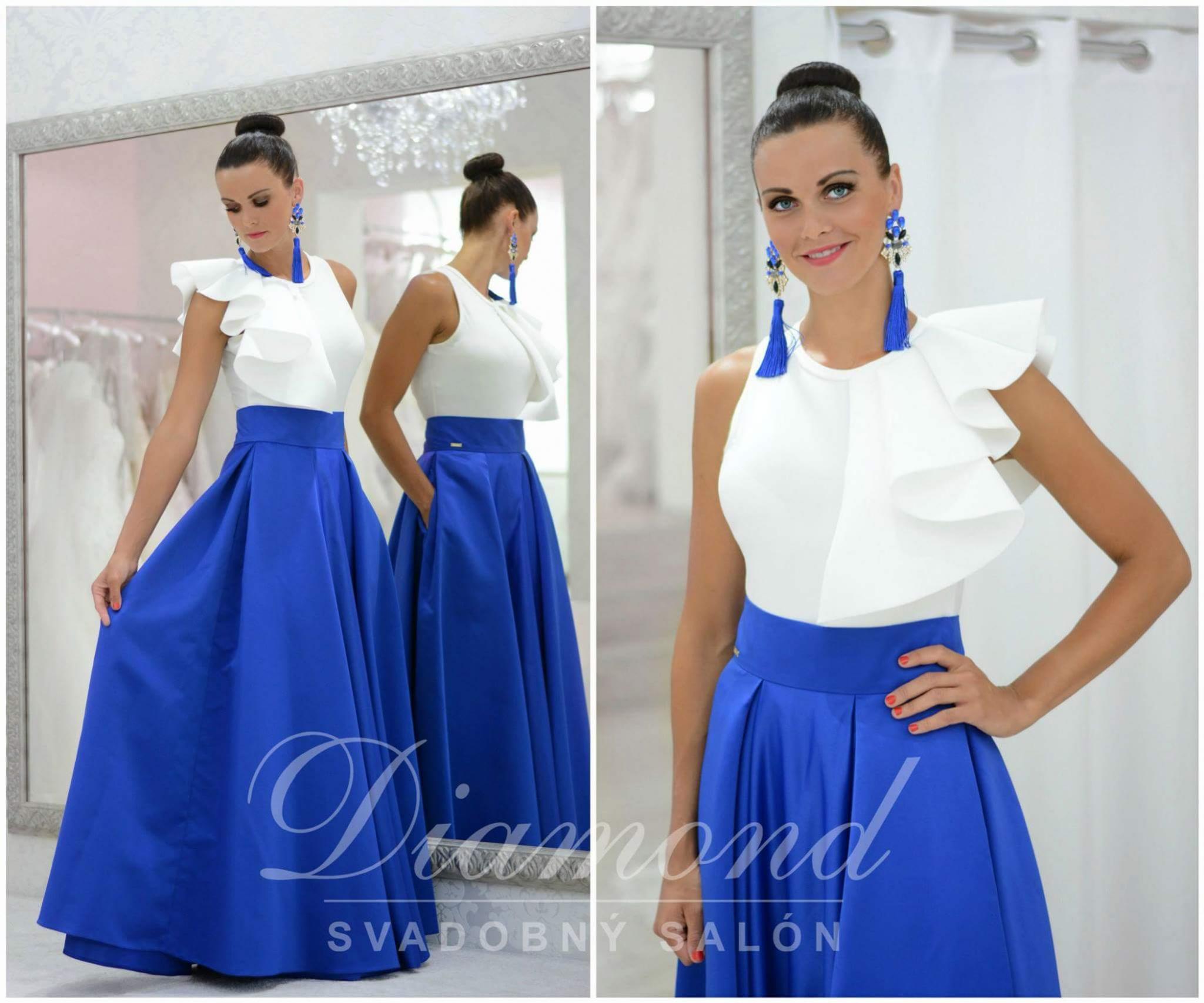 Saténové sukne od svadobného salónu Diamond Nitra