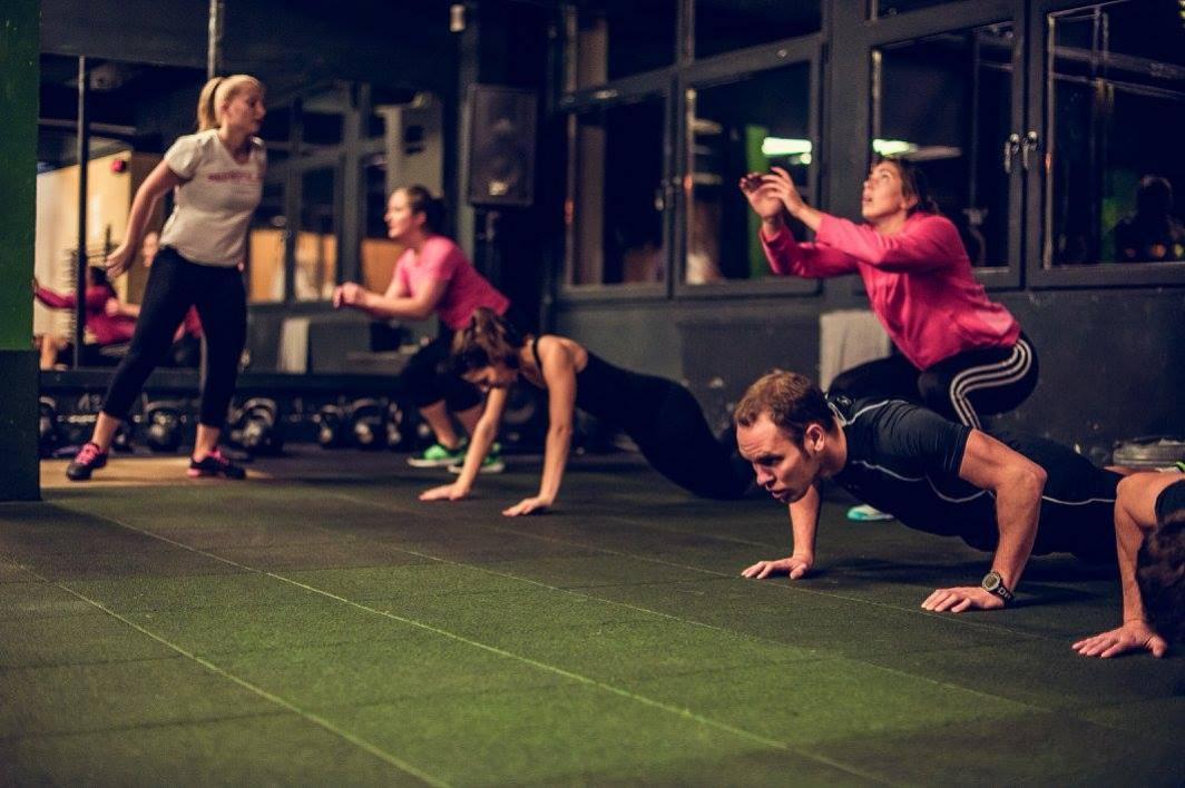 Red royal Gym Nitra cvičenie