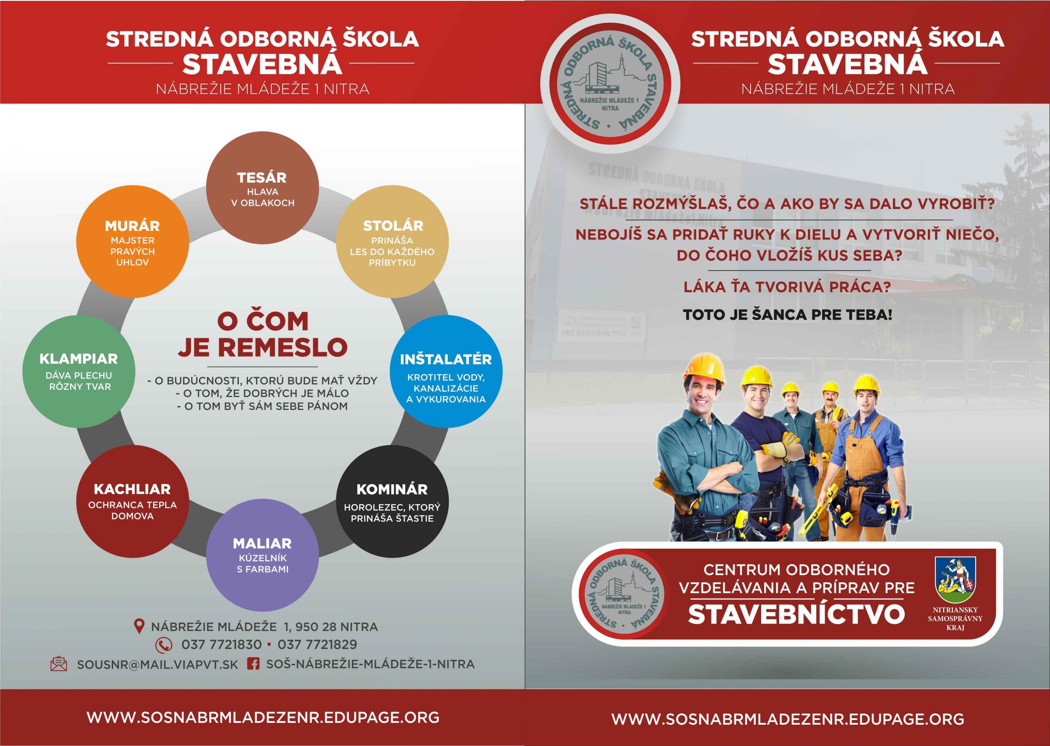studijne odbory stredna odborna skola stavebna nitra