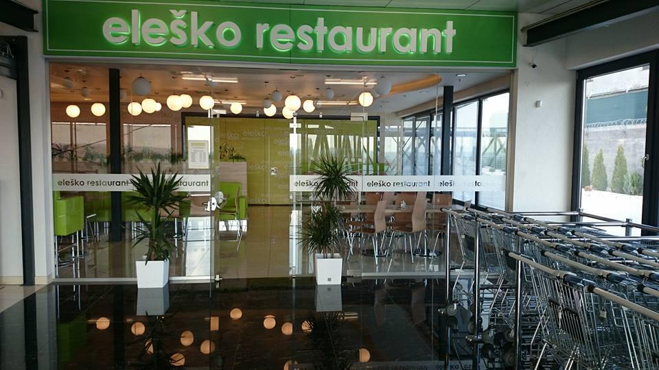 elesko restaurant obchodne centrum l&š nitra