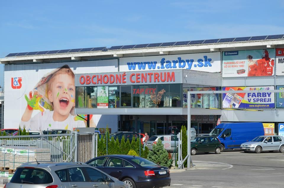 Obchodné centrum L&Š Nitra