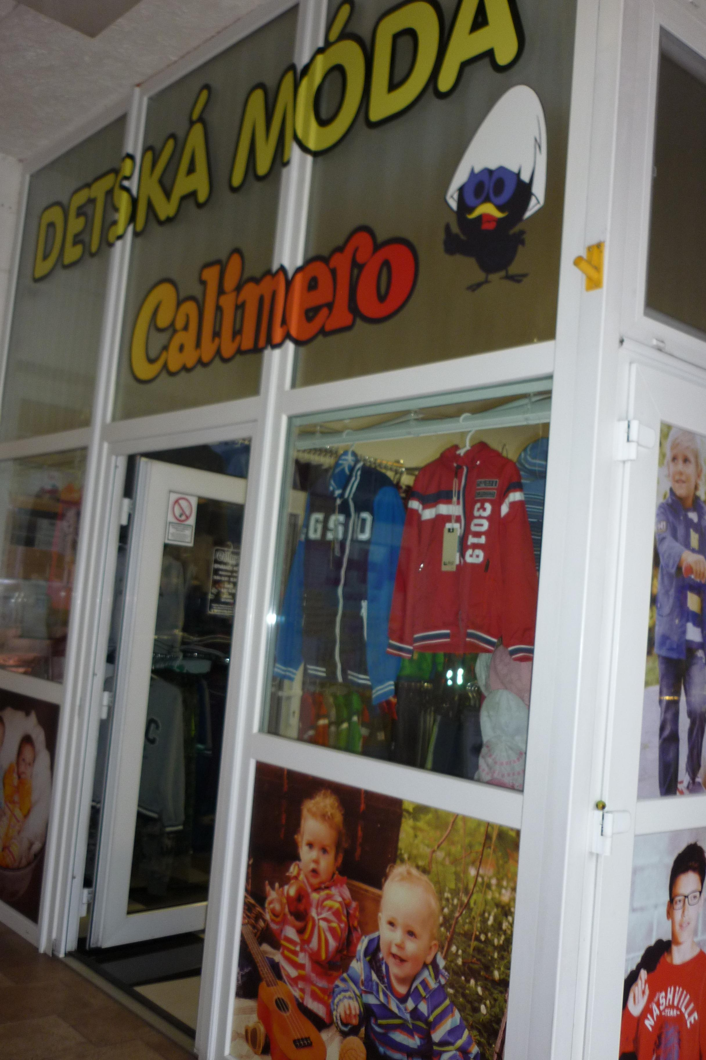 Detská móda CALIMERO Nitra