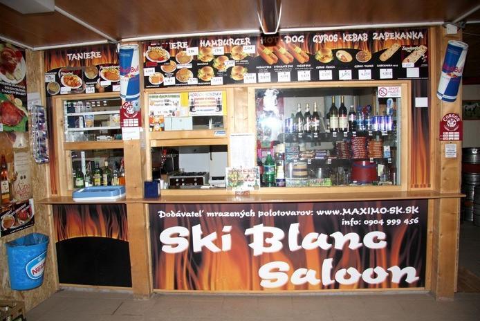 ly�iarske stredisko ski blanc ostr� gr�� koll�rov�