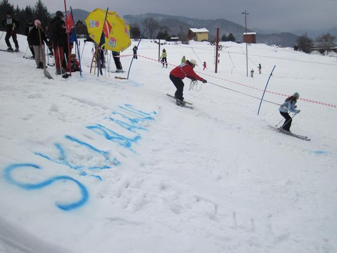 lyziarske stredisko ski blanc ostry grun - kollarova