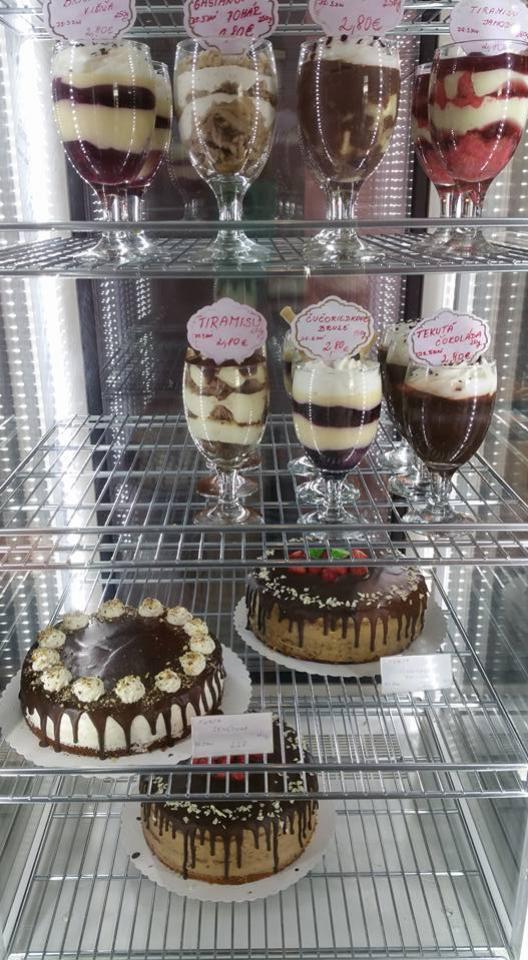 Smotanové poháre v Babičkinej cukrárni