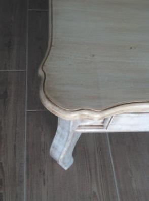stôl v provensálskom štýle Stolárstvo Merlin Mojmírovce