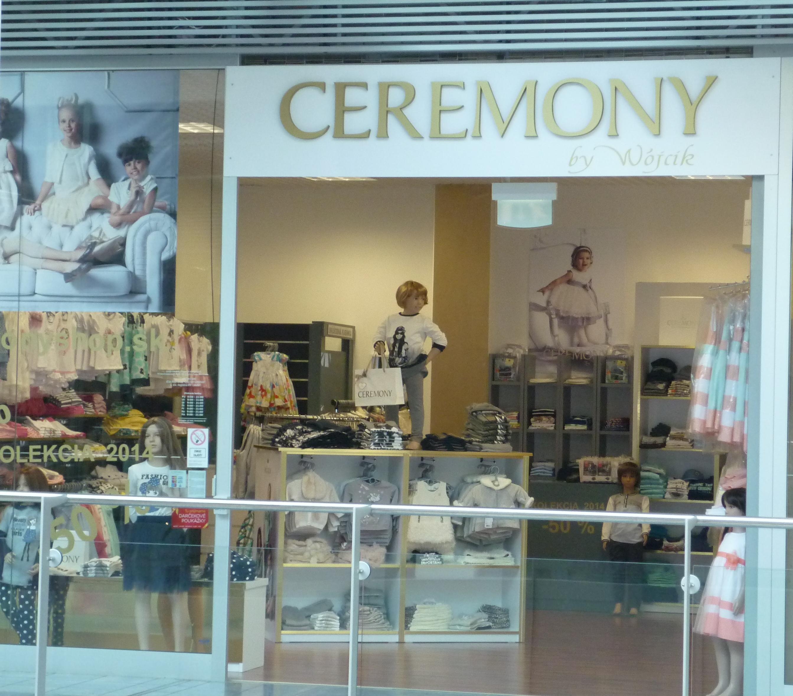 obchod s detskou módou CEREMONY by Wojcik