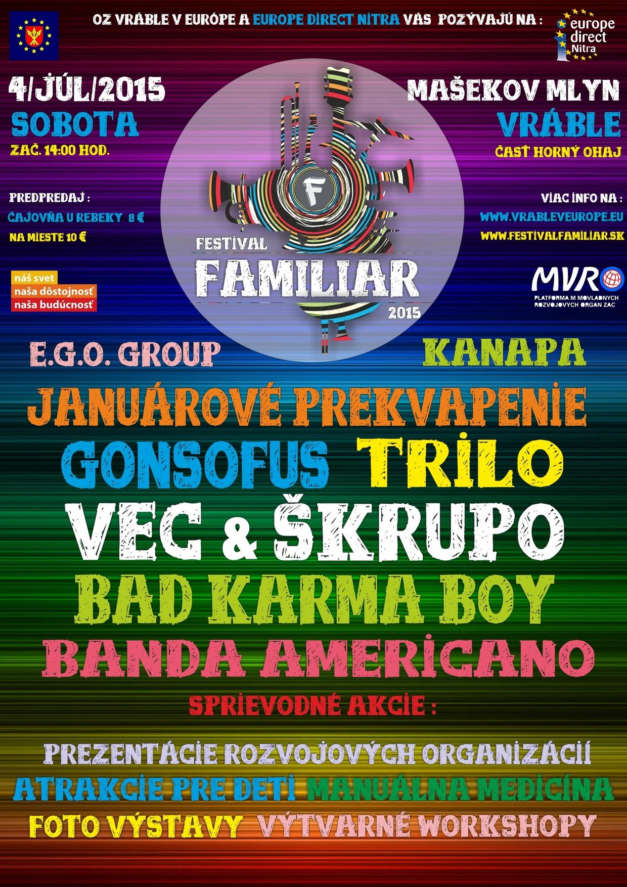 festival Familiar 2015