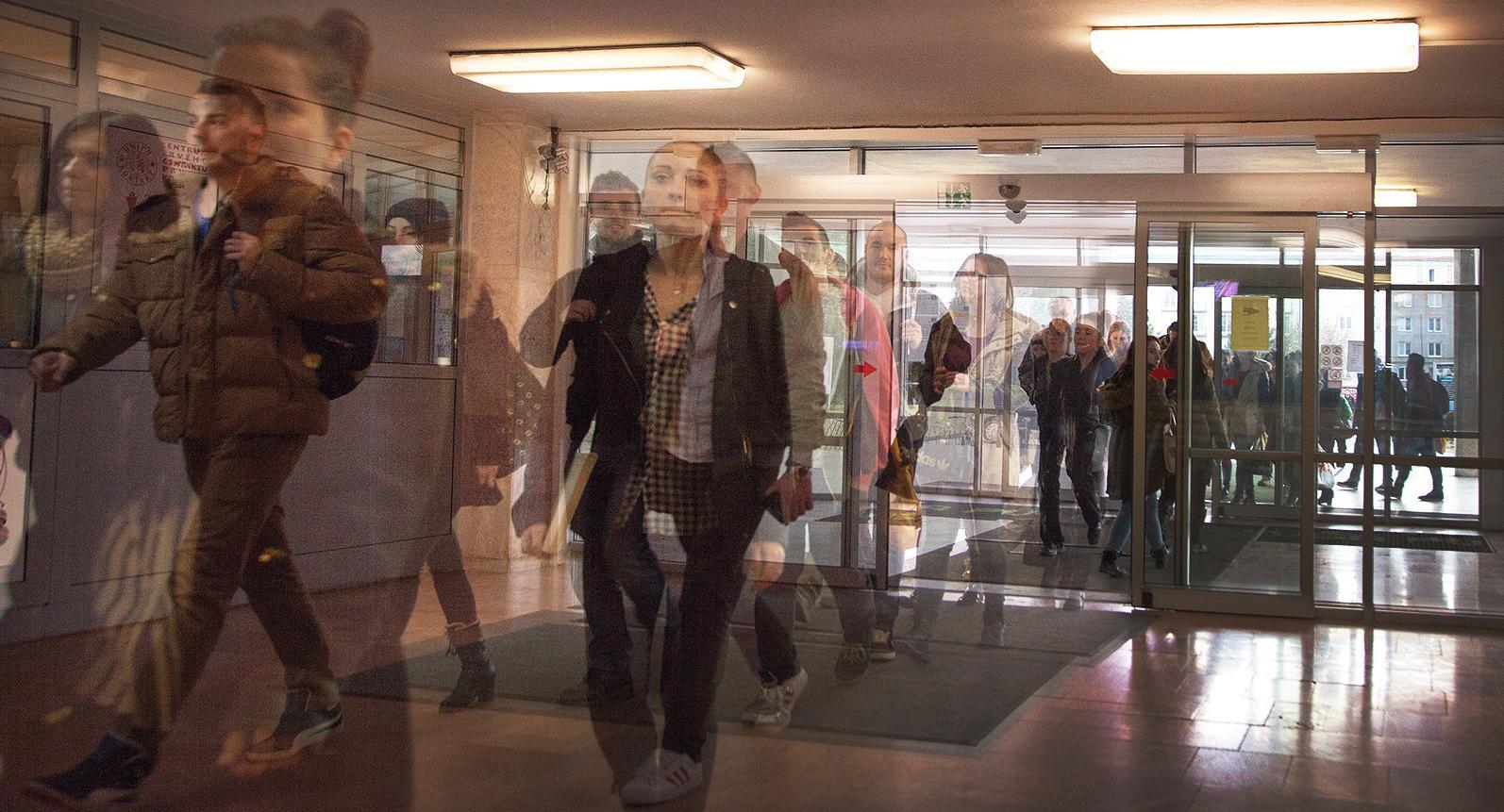 Prostredie fakulty FF PU (foto: Jaroslav Ondo)