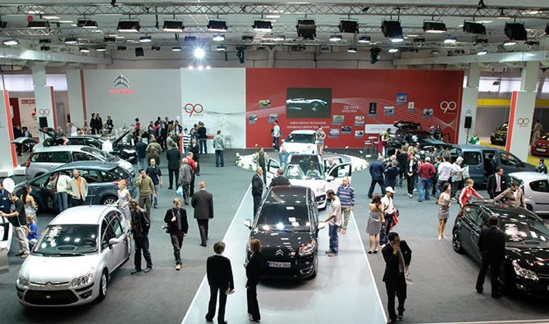 výstava áut