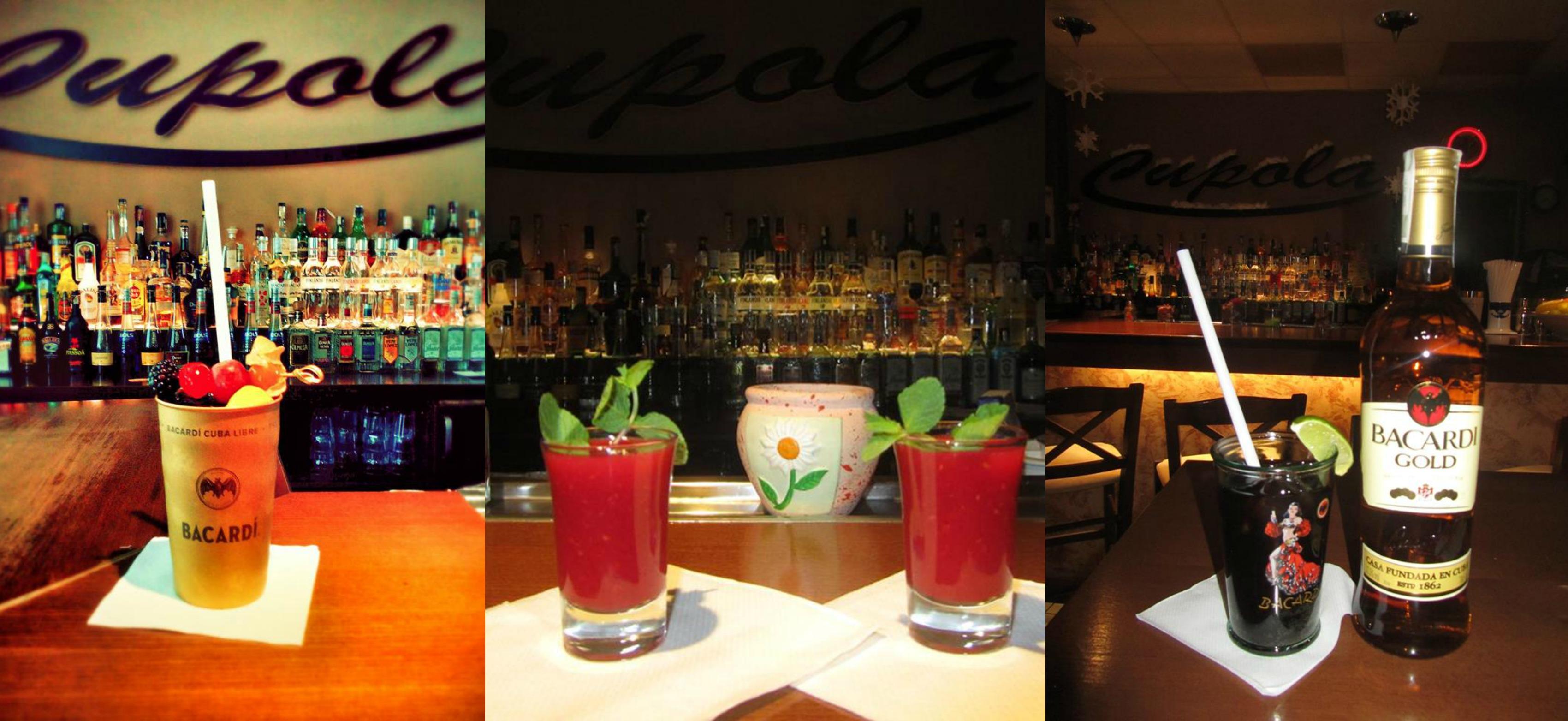 cupola bar miešané drinky