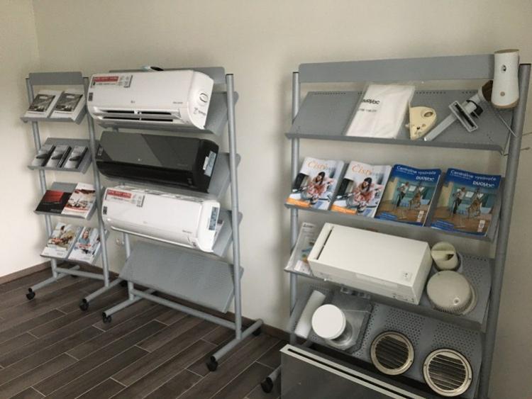 showroom klimatizacii a centralnych vysavacov nitra klimachlad velke zaluzie