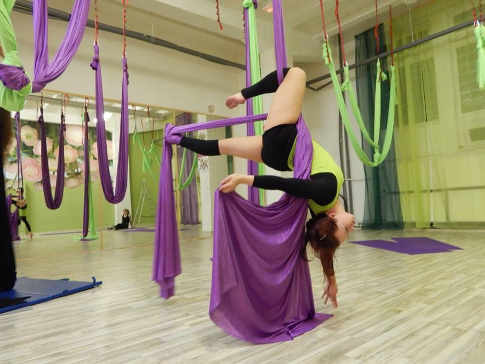FlyZone yoga & acrobatics studio Nitra