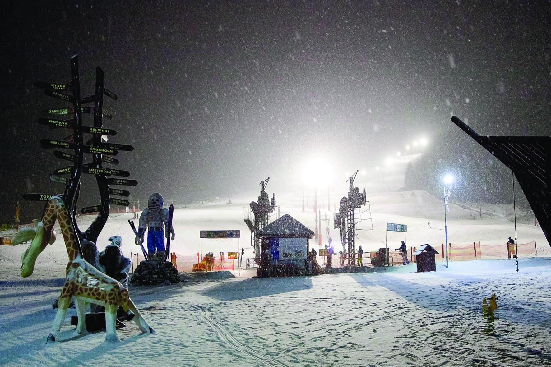 dovolenka v snowland valcianska dolina