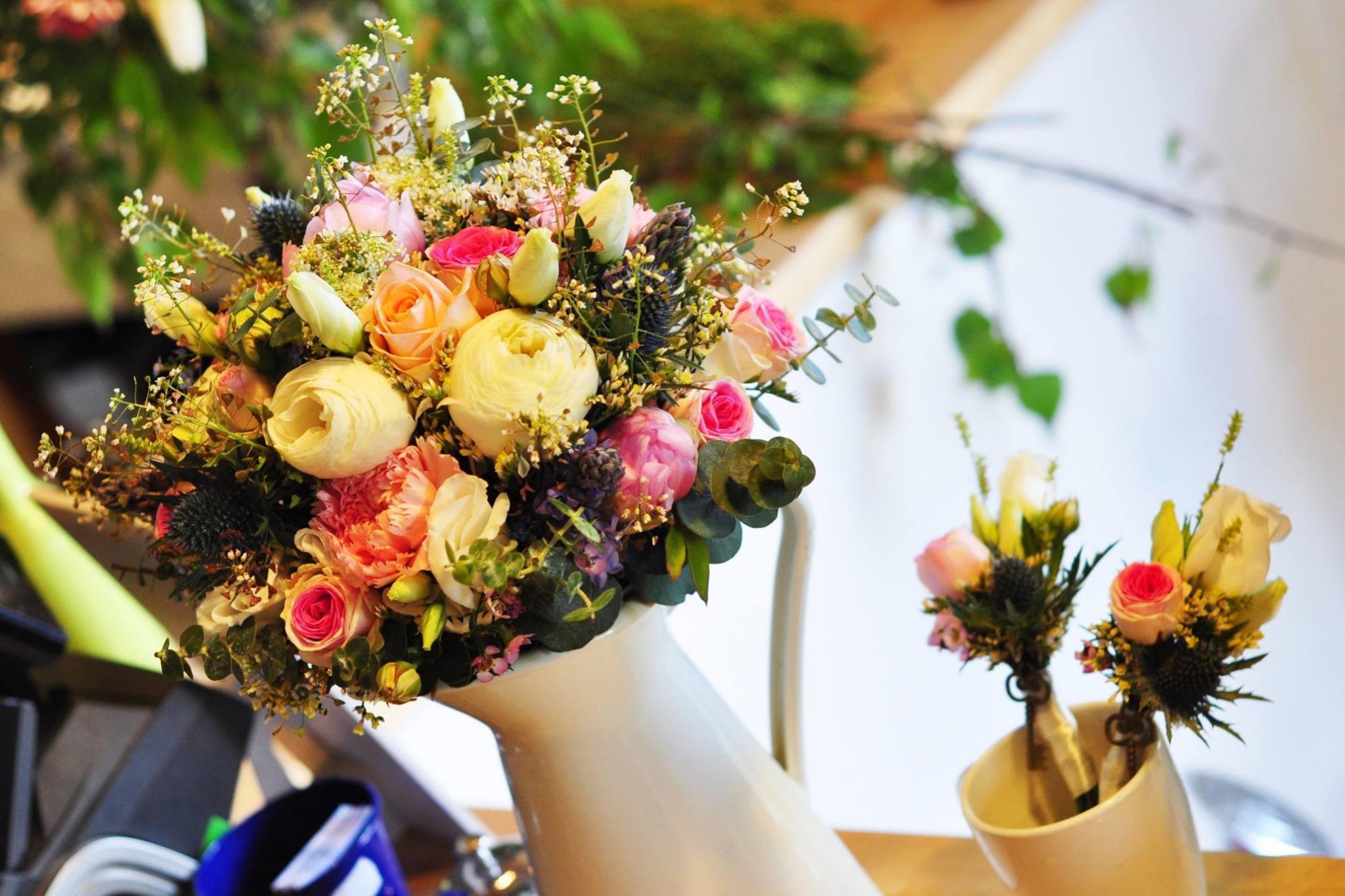 kvety na svadbu nitra