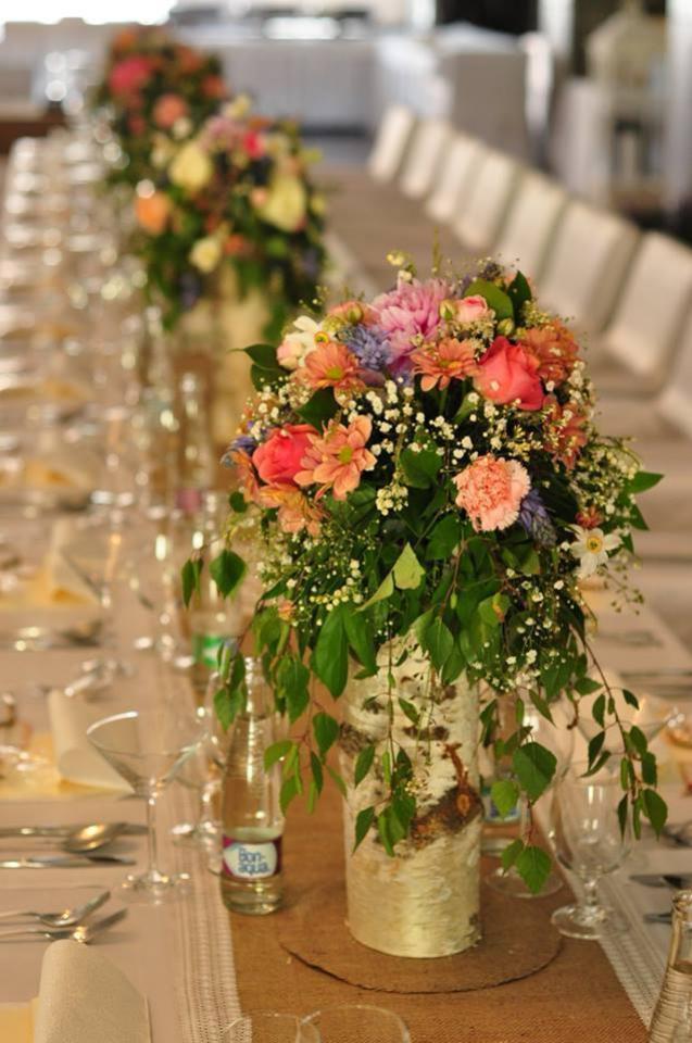 kvetinová svadobná výzdoba