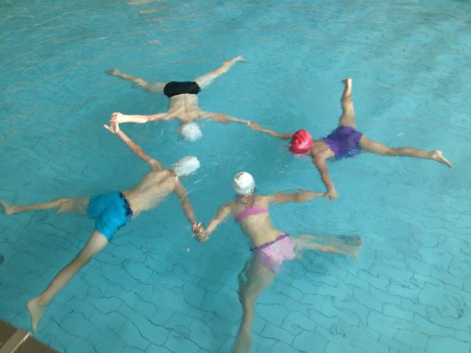 detský kurz plávania balance nitra