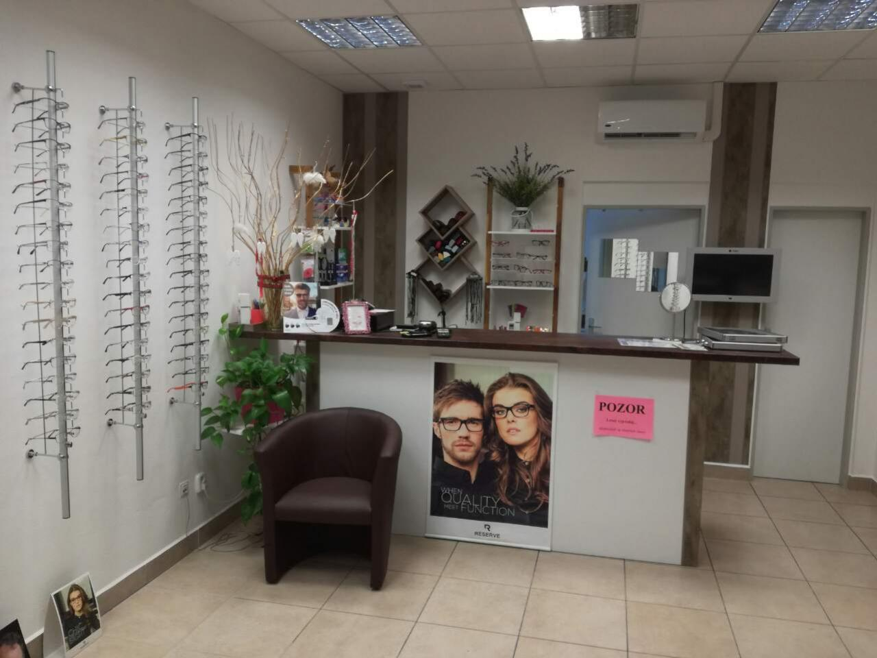 predaj okuliarov nitra