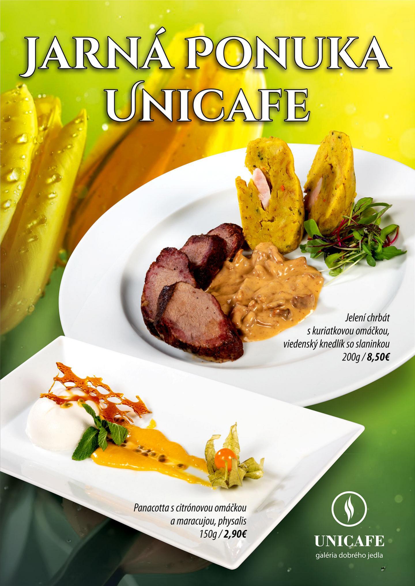 UNICAFE - jarn� ponuka
