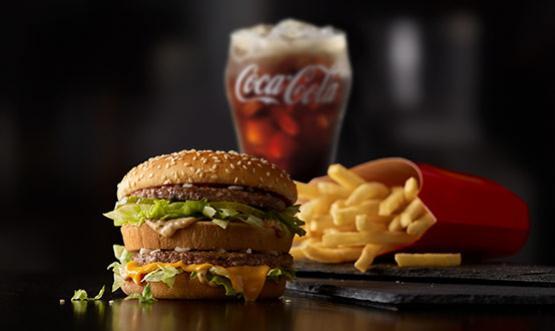 Denné menu v McDonalds