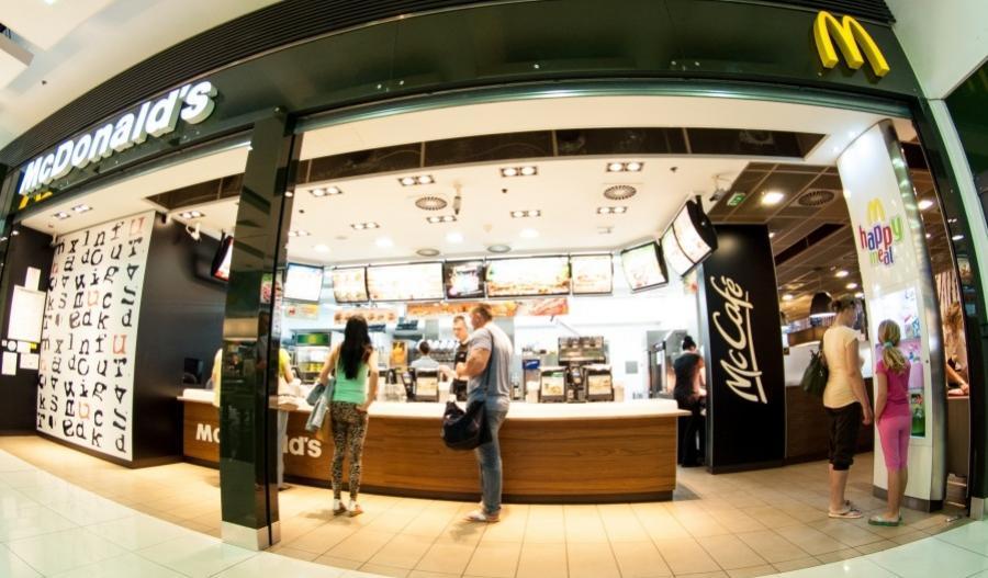 Reštaurácia McDonald's v Nitre v OC Mlyny