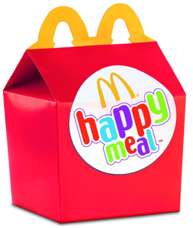 Detské menu pre deti Happy Meal