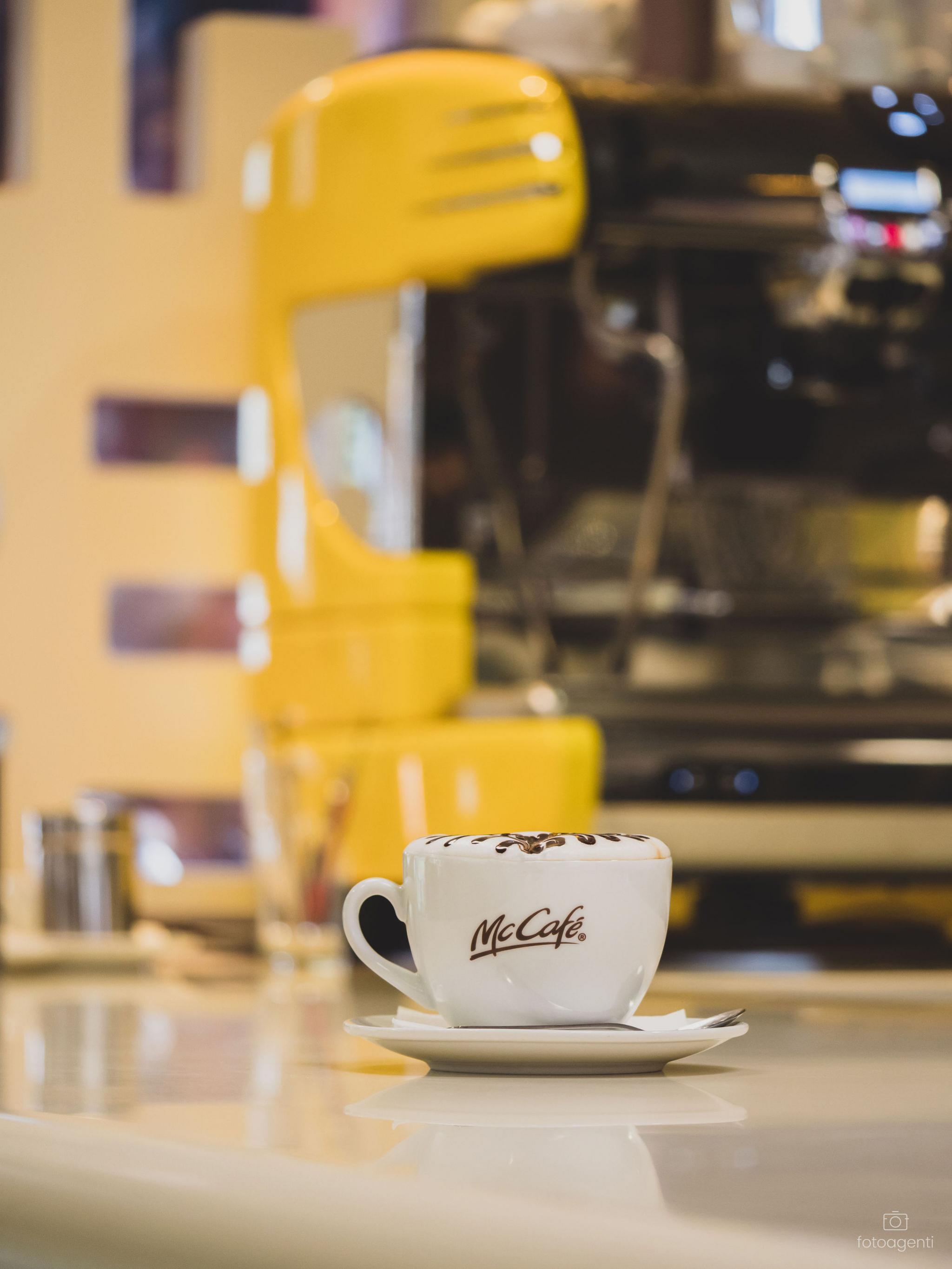 Doprajte si chutnú kávu v McCafé