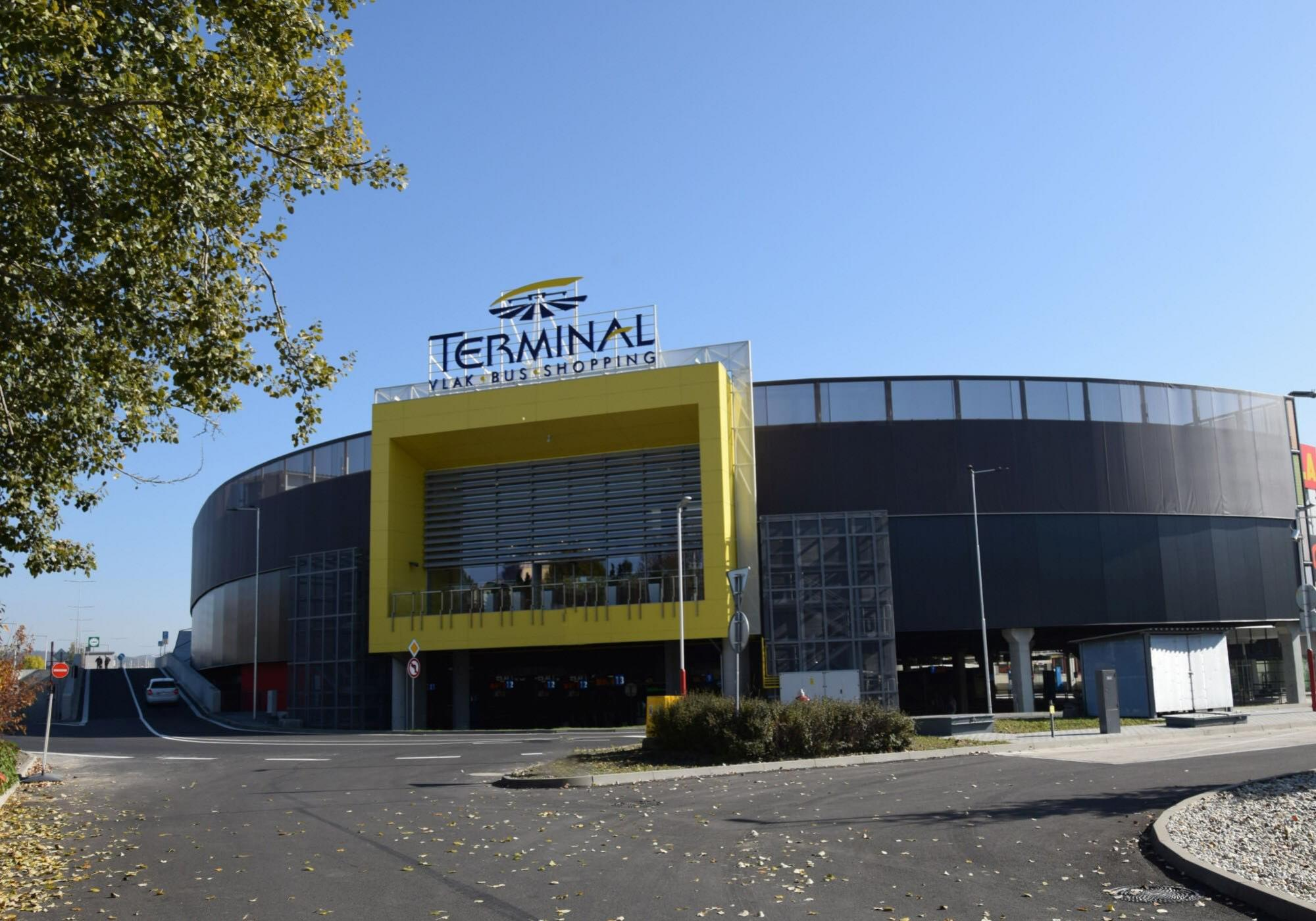 Nakupne centrum Terminal Banska Bystrica