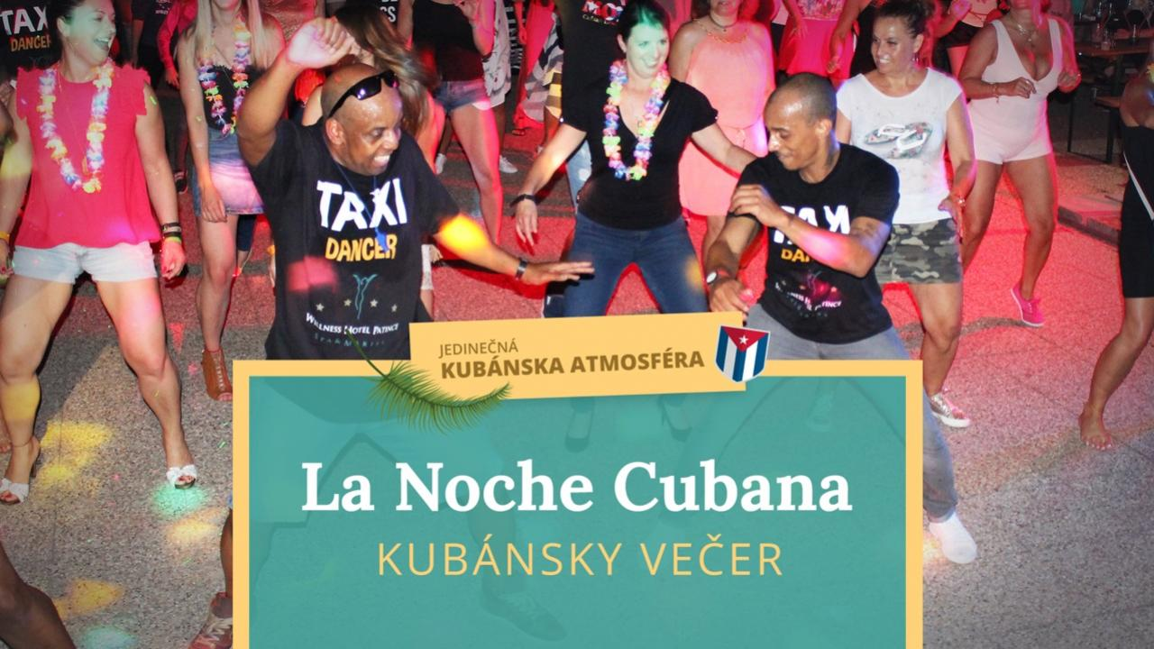 la noche cubana kubánska noc patince