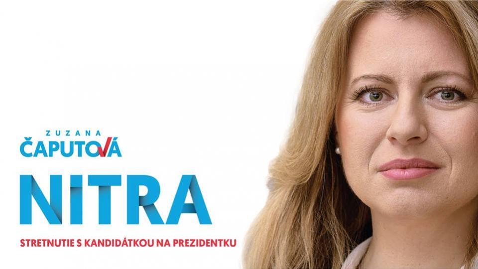 talkshow so zuzanou caputovou nitra