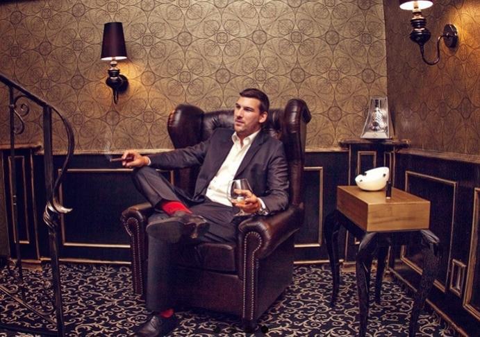cigar lounge zlaty klucik