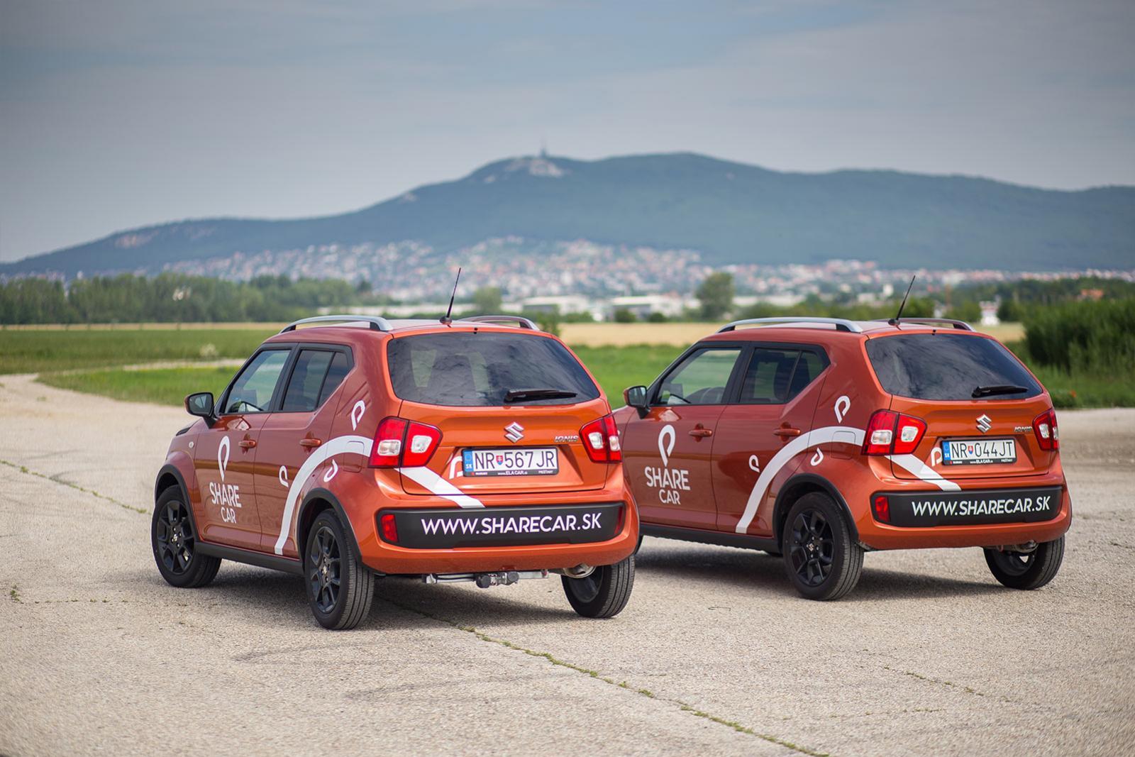 Zdieľané autá v Nitre