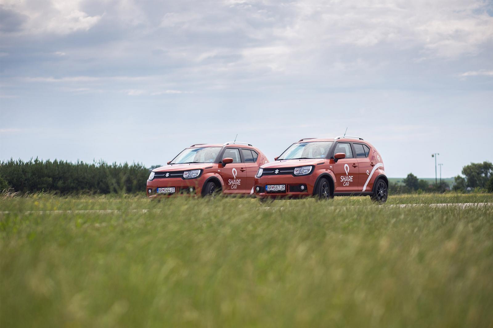 Share Car Nitra - efektívne a jednoduché