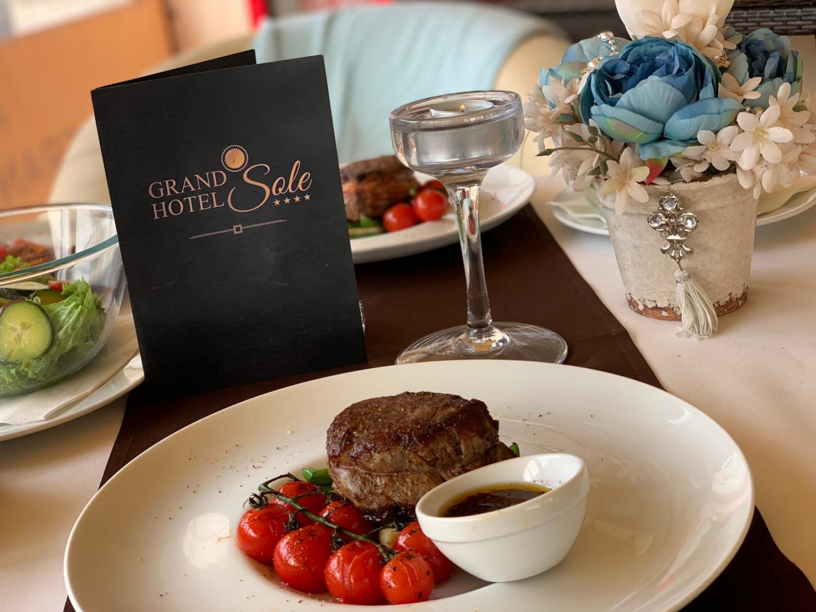 Grand Hotel Sole**** - Hovädzí steak