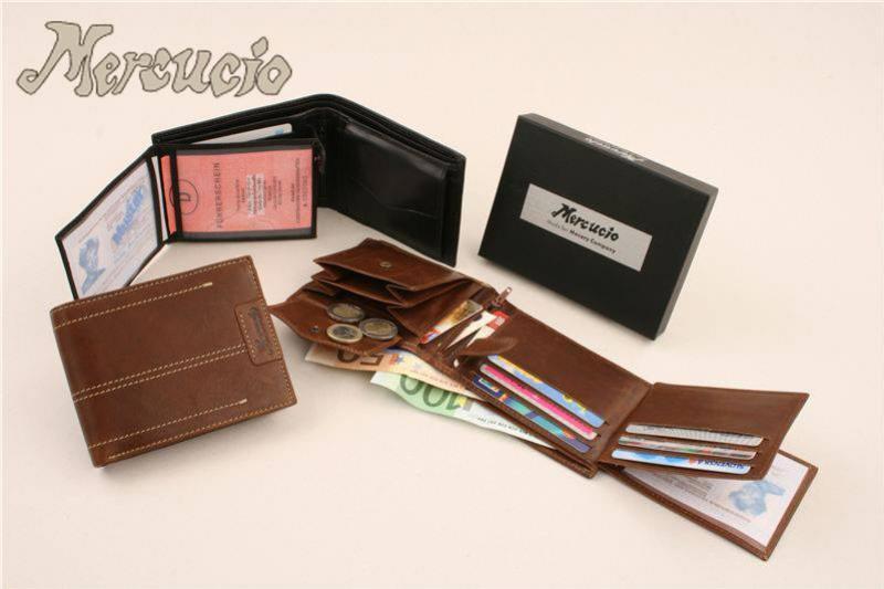 Dámske a pánske peňaženky Mercucio