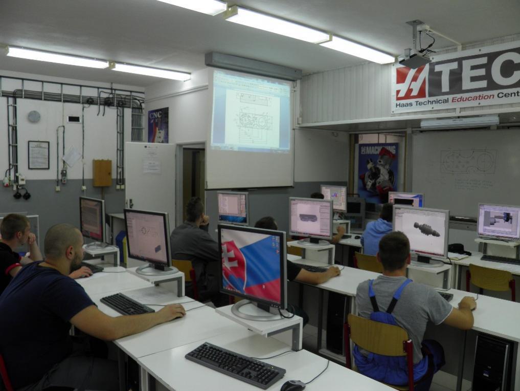 prax SSOŠ polytechnická DSA, Nitra