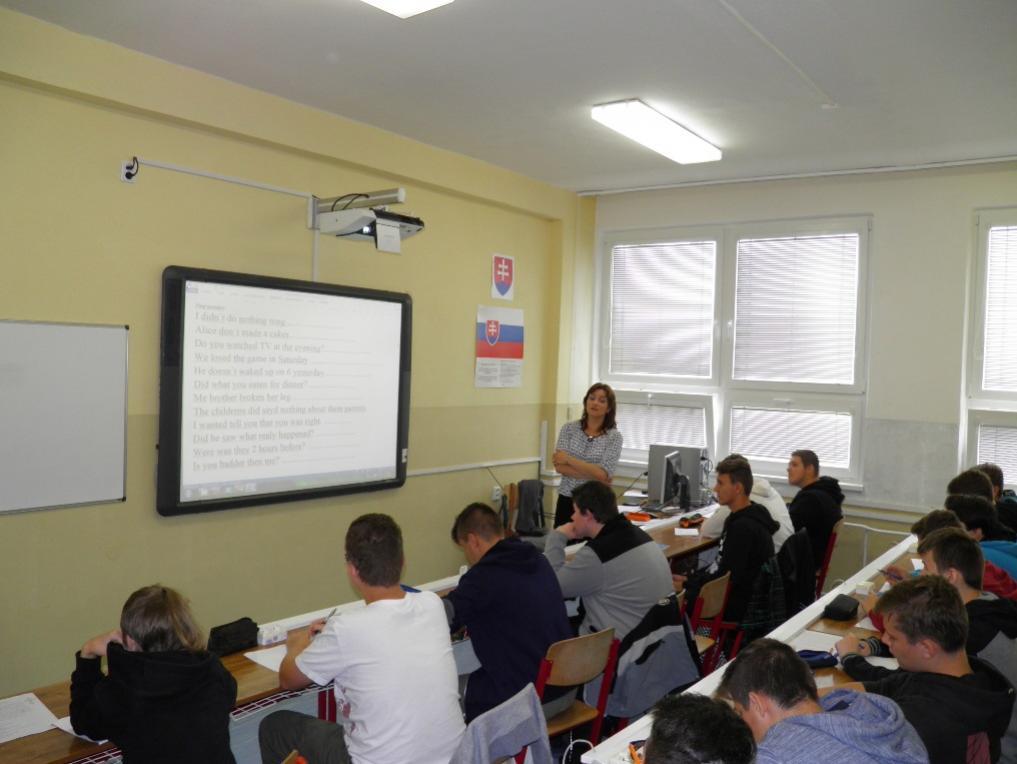teoretické vyučovanie - SSOŠ polytechnická DSA, Nitra