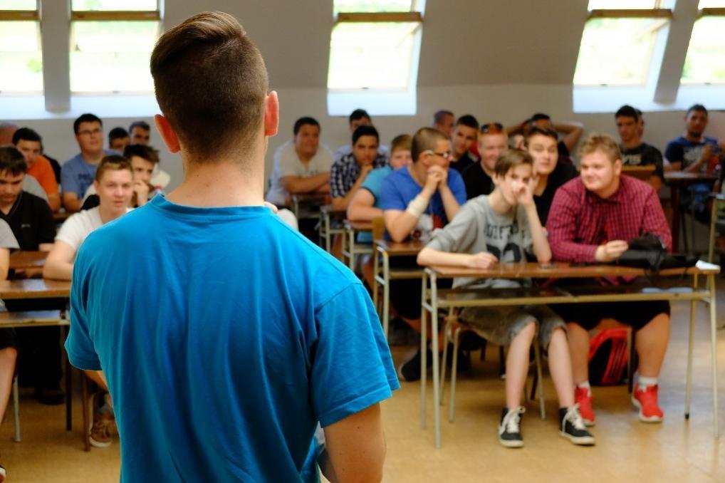 teoritické vyučovanie - SSOŠ polytechnická DSA, Nitra