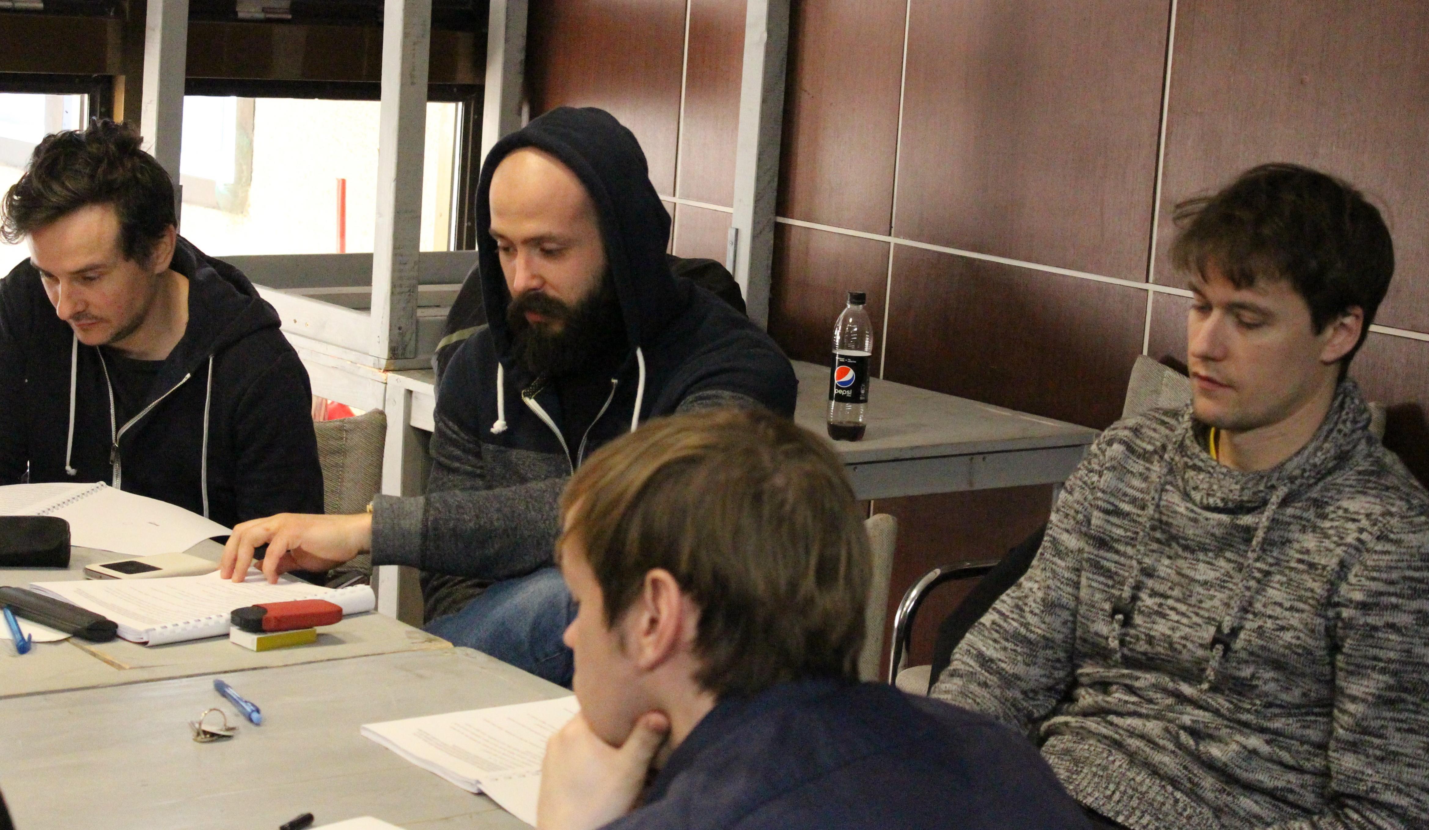 Peter Oszlik, Daniel Ratimorsky, Juraj Duris, Andrej Remenik