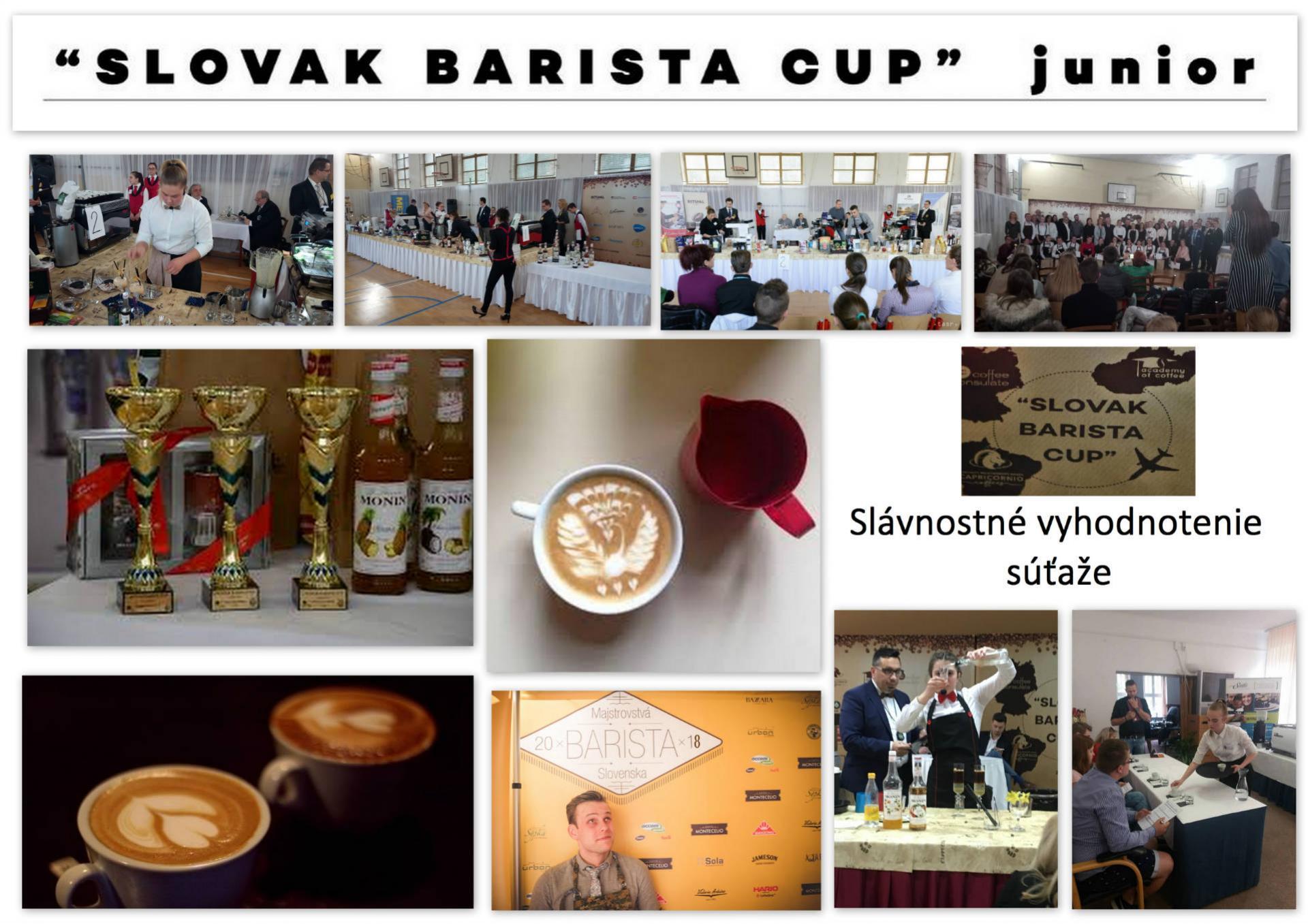 SLOVAK BARISTA CUP JUNIOR 2018 NITRA