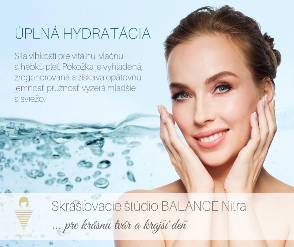 hydrat�cia pleti - balance & lifestyle nitra