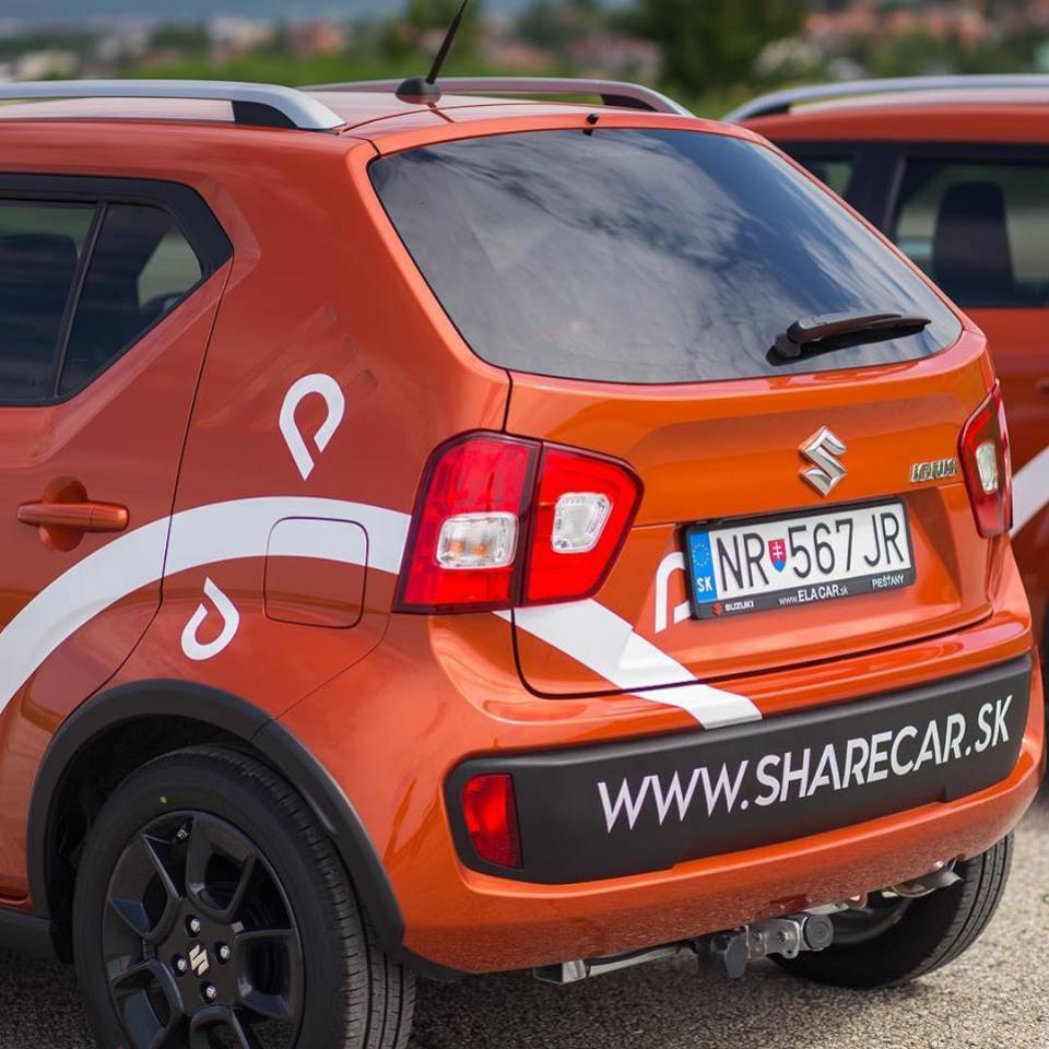 usetrite na aute stovky eur share car nitra