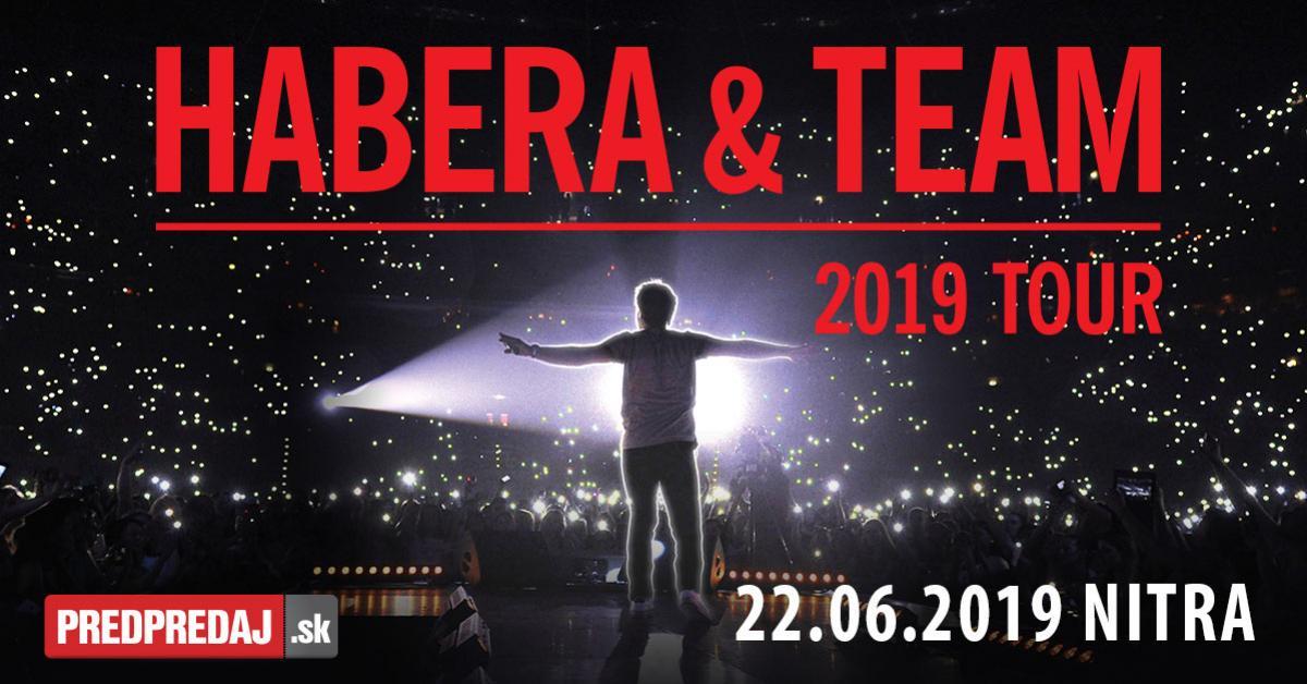 habera a team tour 2019 nitra amfiteater 22.6.2019