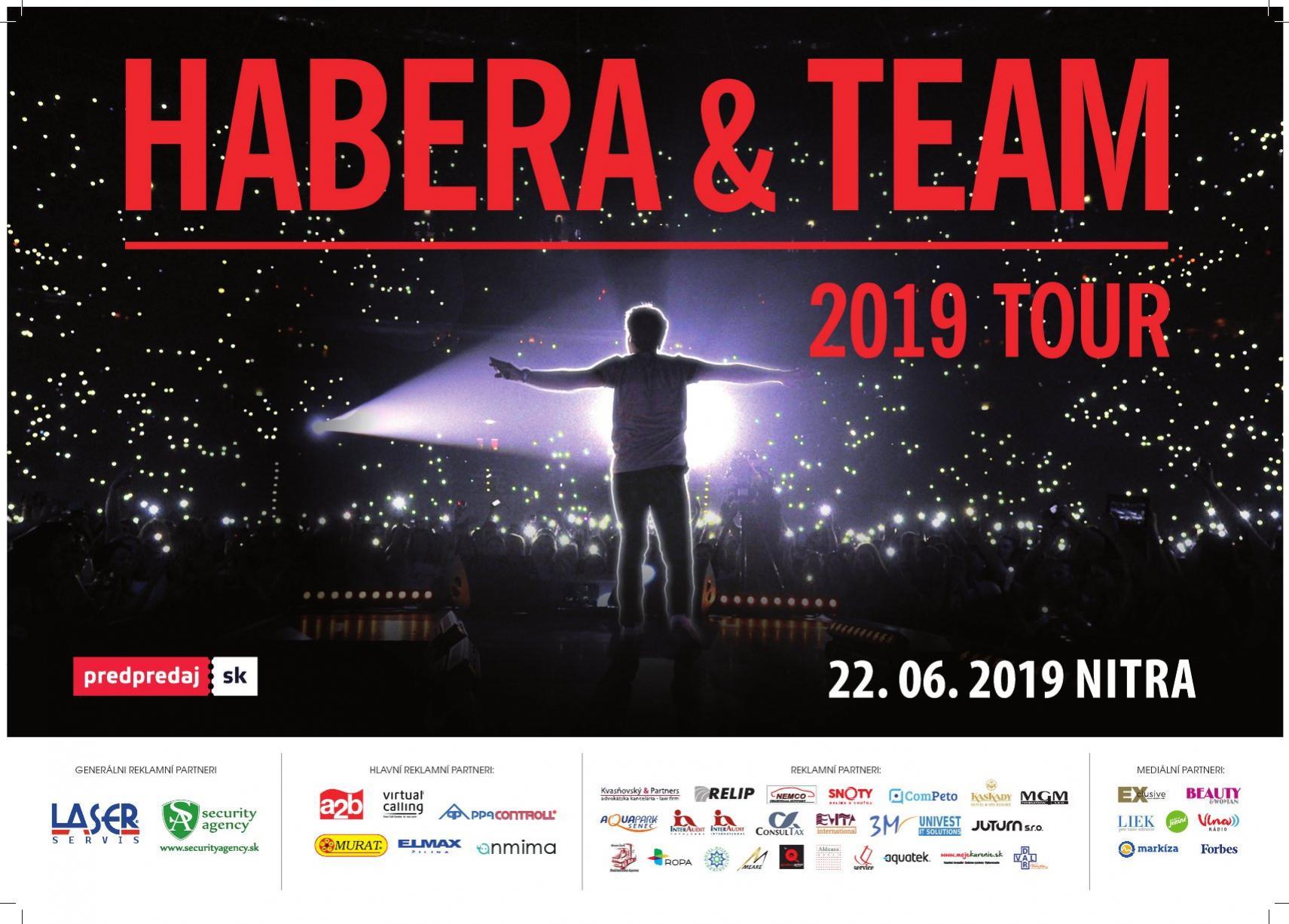 Habera a Team Tour 2019 Nitra