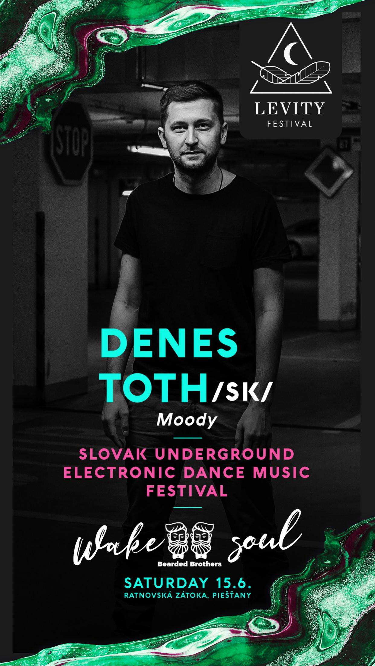 LEVITY Festival Piešťany undergroundová elektronická tanečná hudba zábava