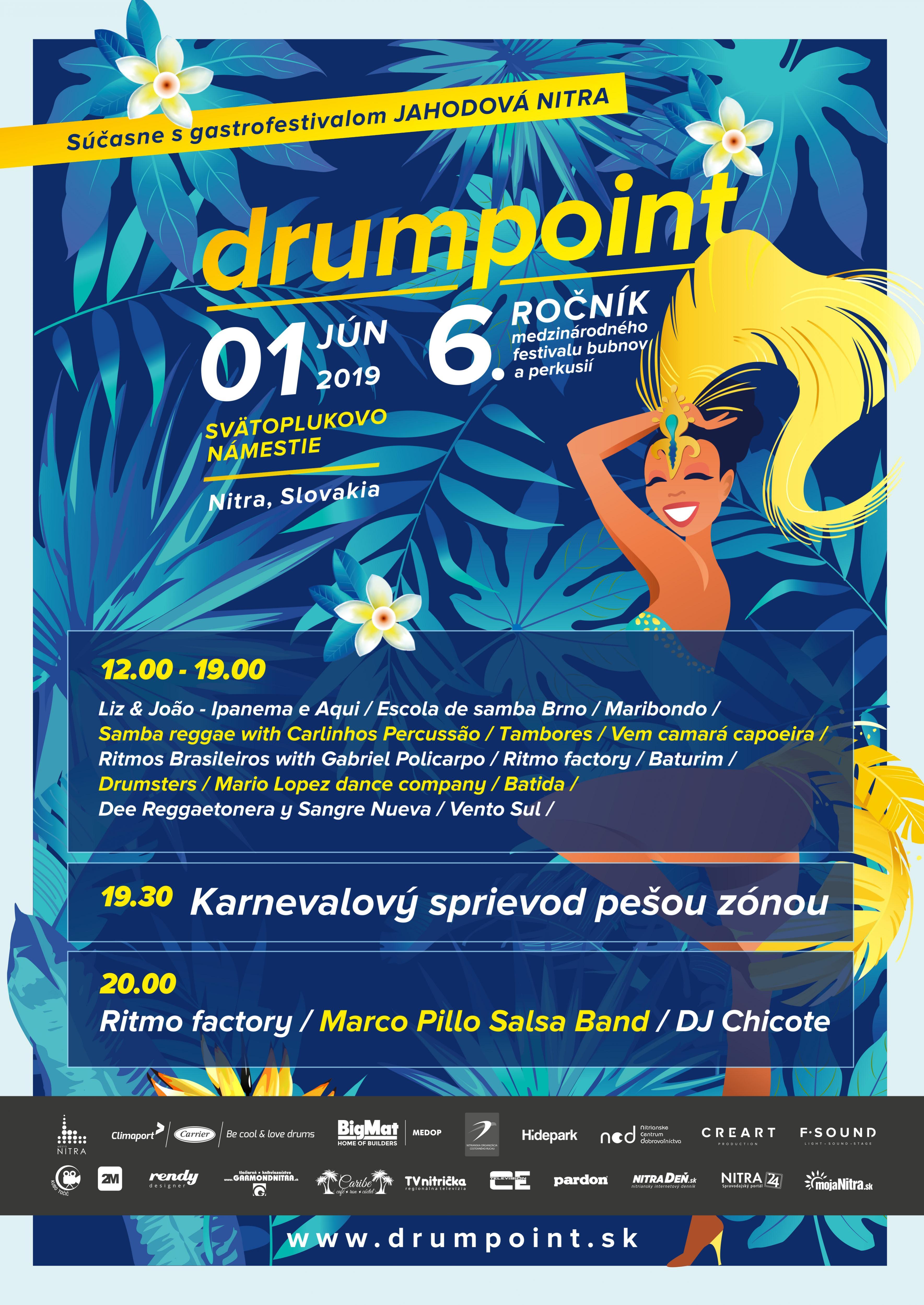 drumpoint program sobota 1.6.2019