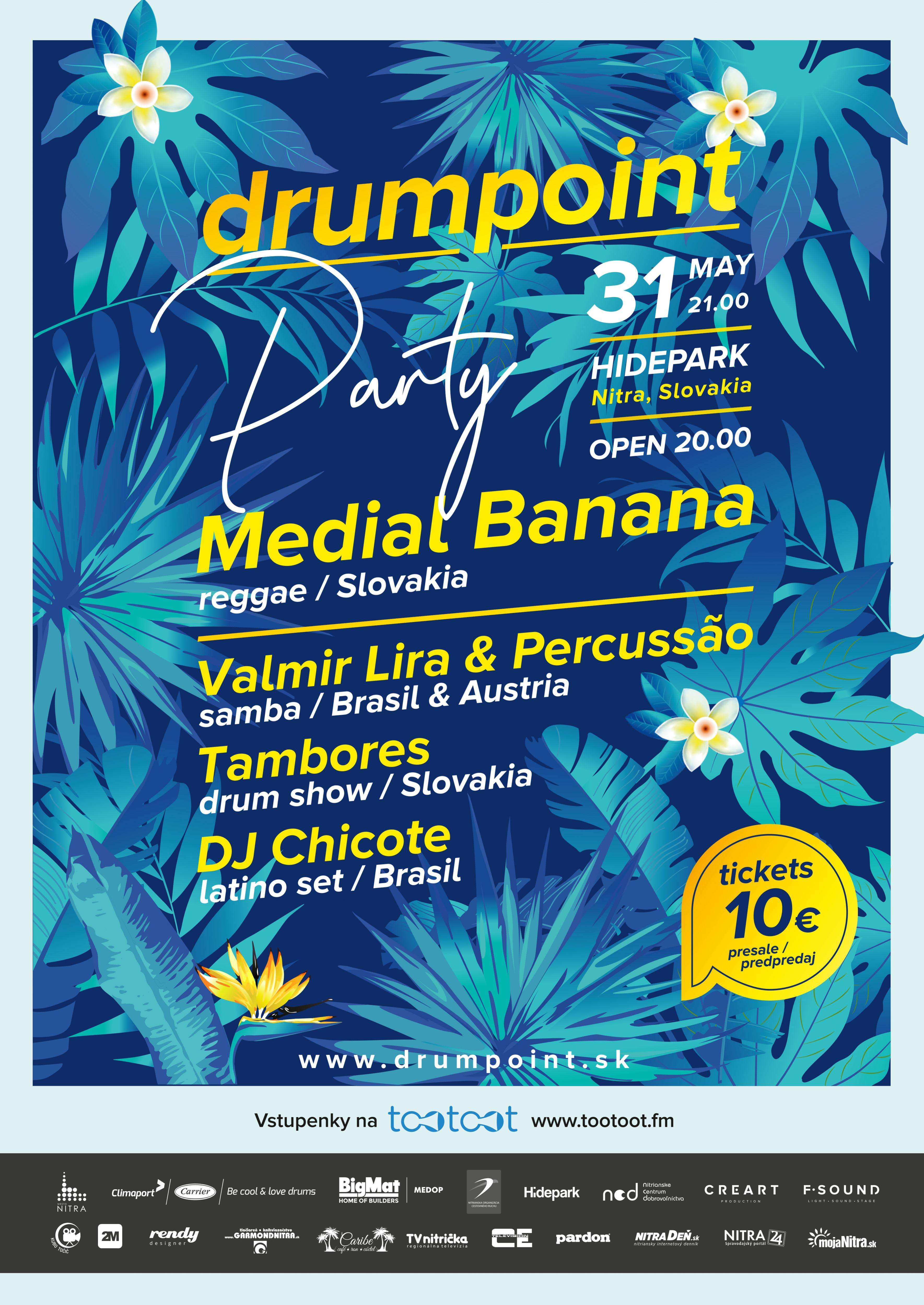 drumpoint 2019 program piatok hide park nitra